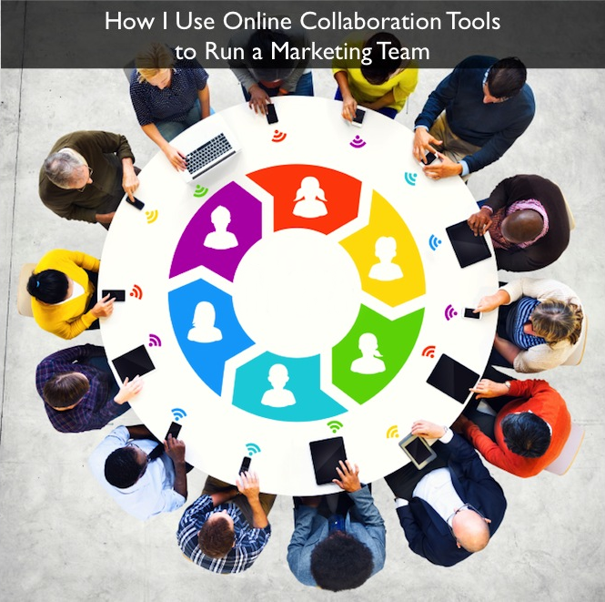 How I Use Online Collaboration Tools to Run a Marketing Team