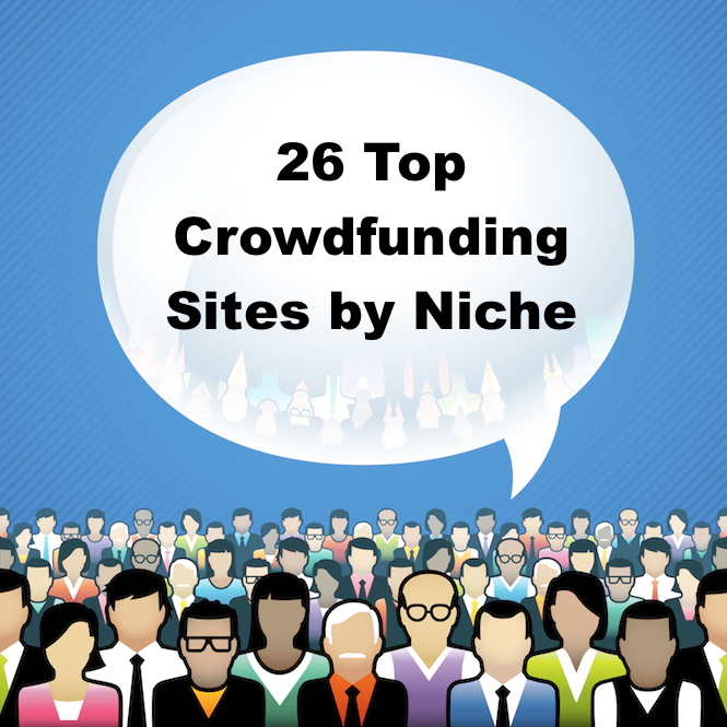 26 top crowdfunding sites to use by niche