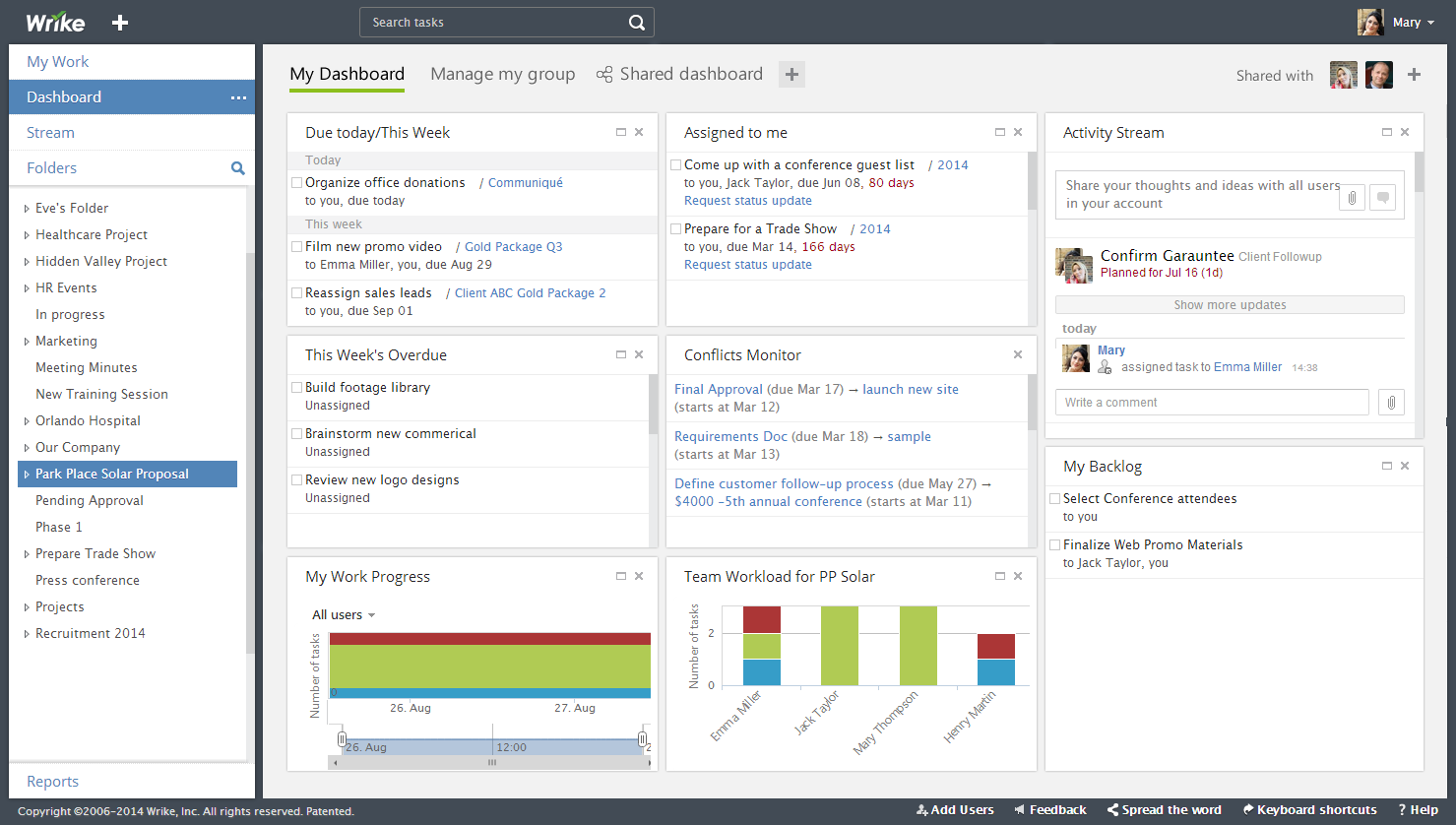 Analytics Widgets Actionable Progress Insights Now On