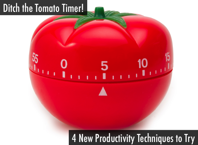 Pomodoro method leave something to be desired? Try these alternative productivity techniques.
